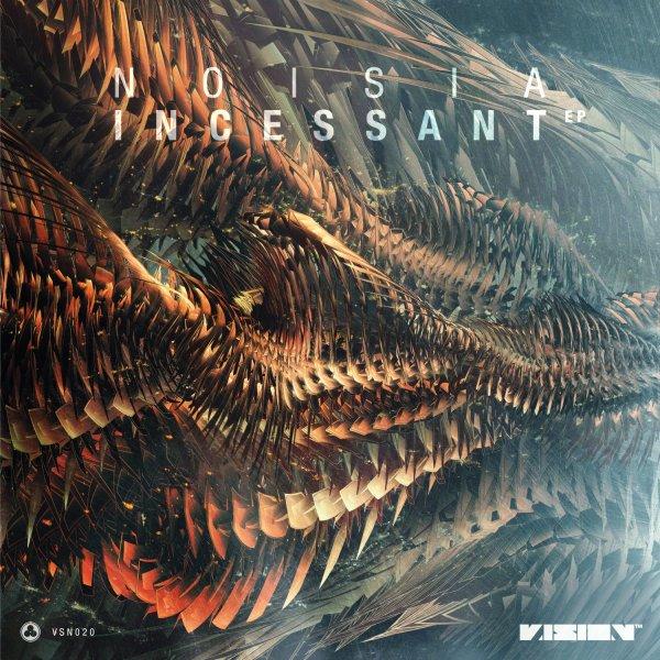Noisia - Incessant EP - Front