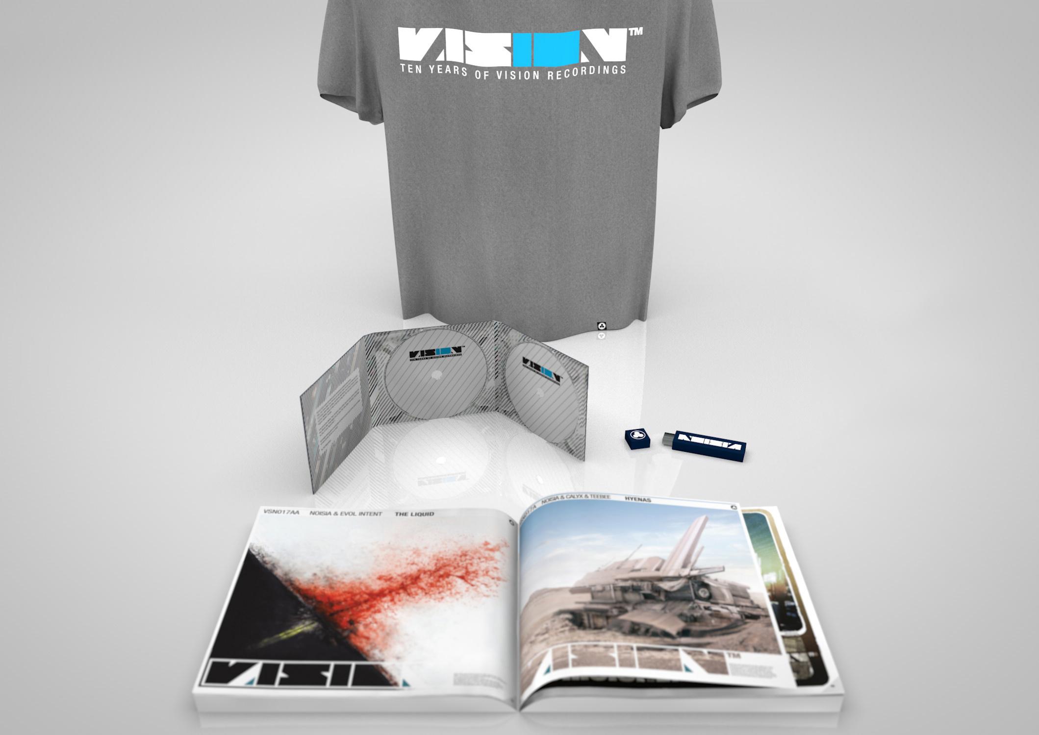 Merchandise Vision Recordings