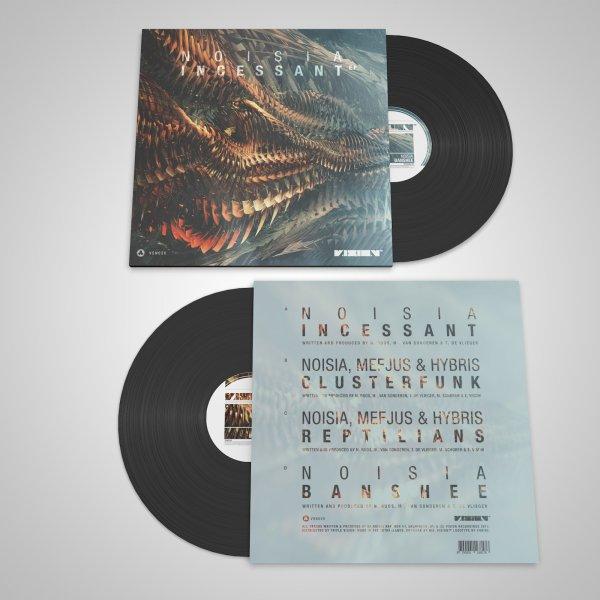 Incessant EP Vinyl