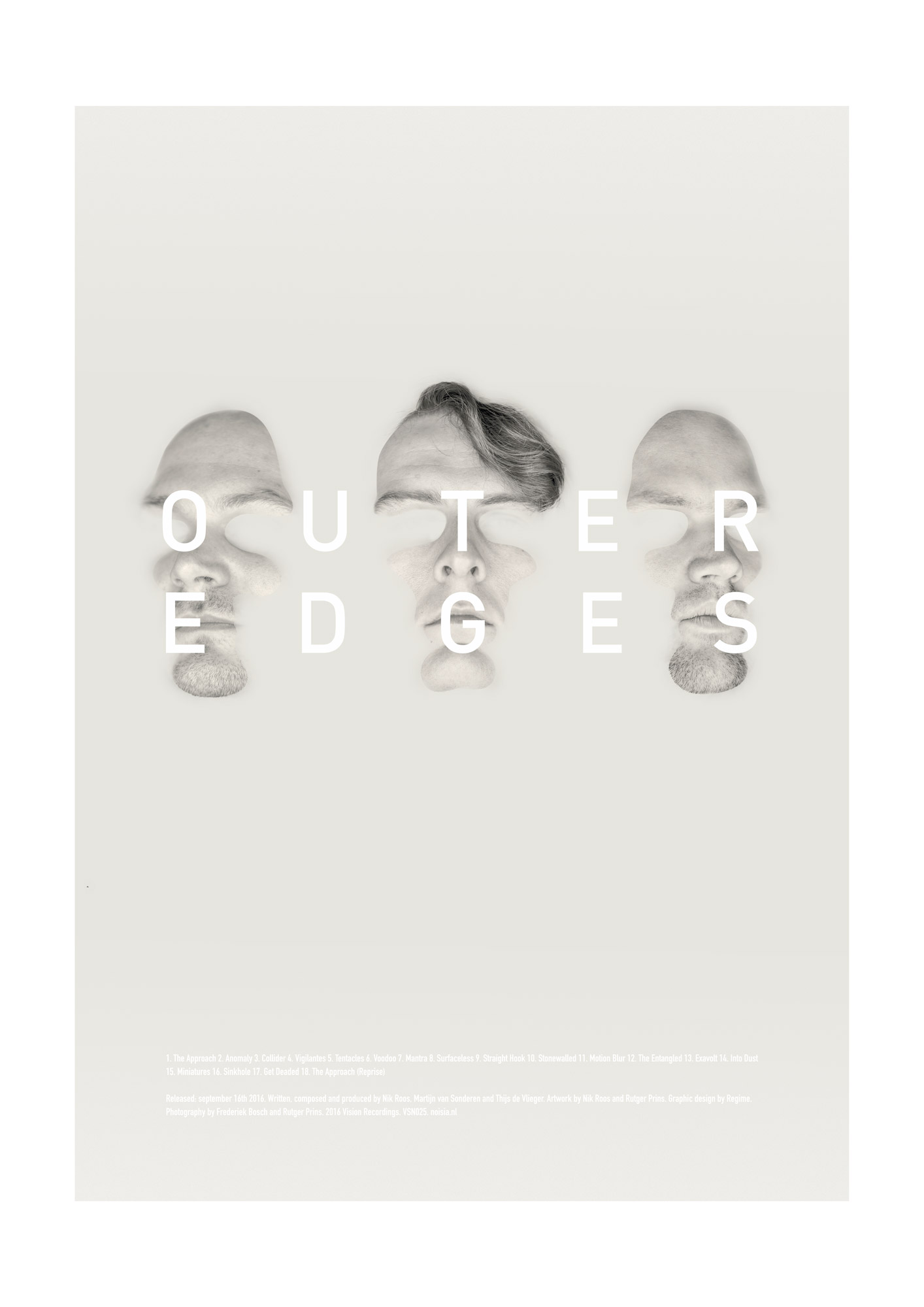Noisia - Outer Edges poster