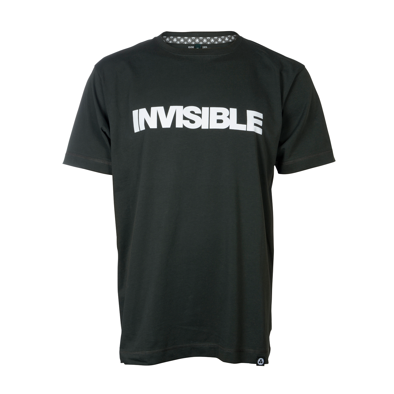Invisible Logo T-shirt (Green) - Vision Recordings