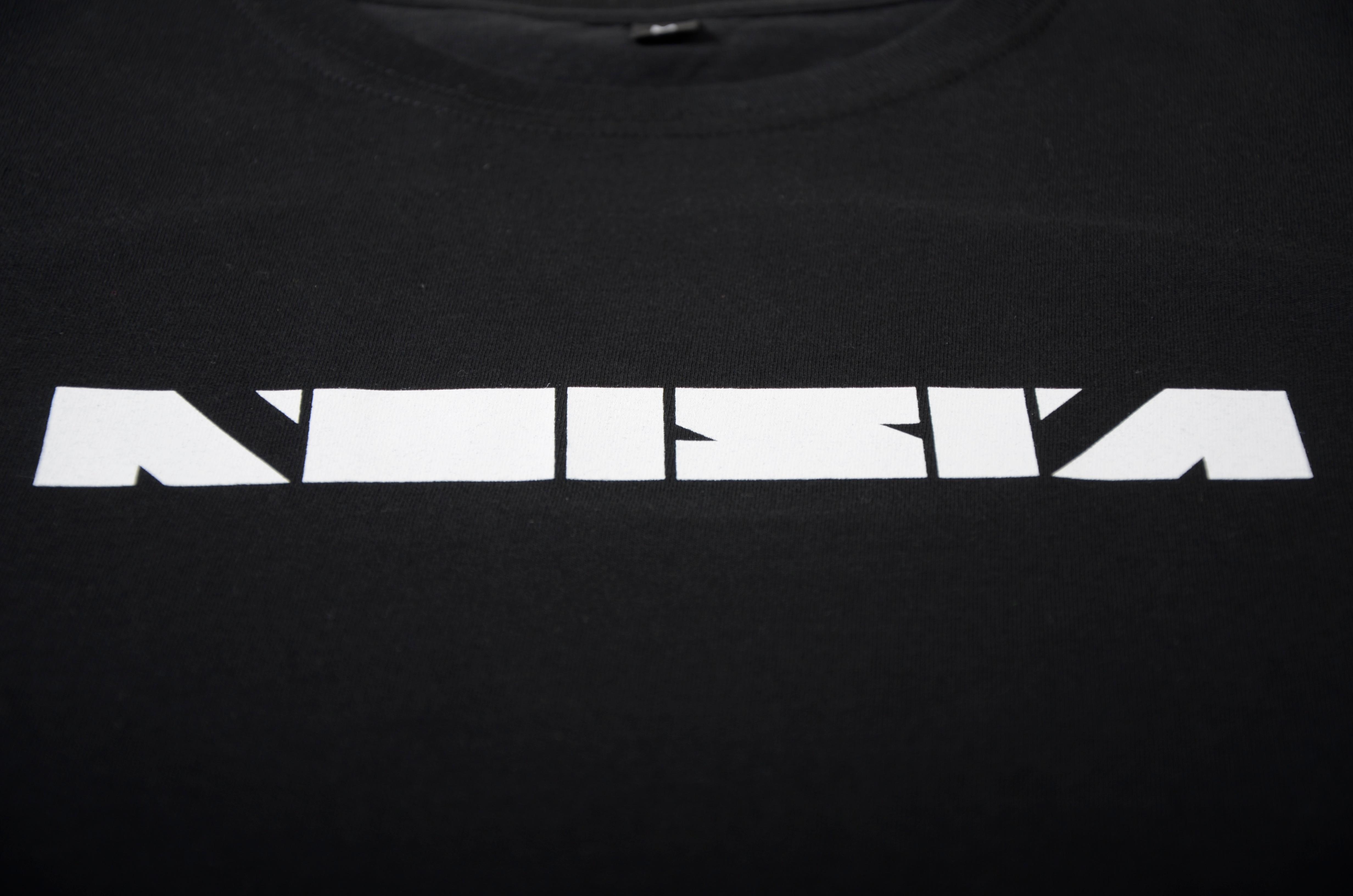 Black t shirt logo - Noisia Logo T Shirt Noisia Logo T Shirt