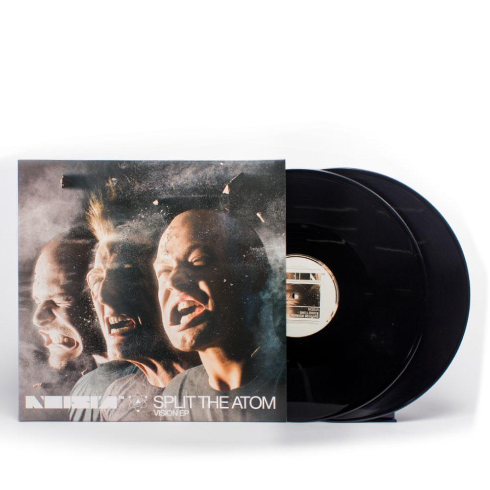 Noisia Split The Atom Vision Ep Vinyl Vision
