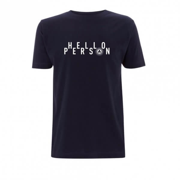 HELLO PERSON t-shirt